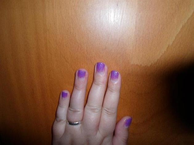 Purple and shiny