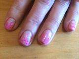 Pink Glitter Fade