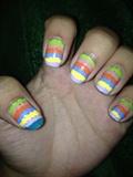 Dot Line Nails