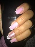 pinki nail bling nail