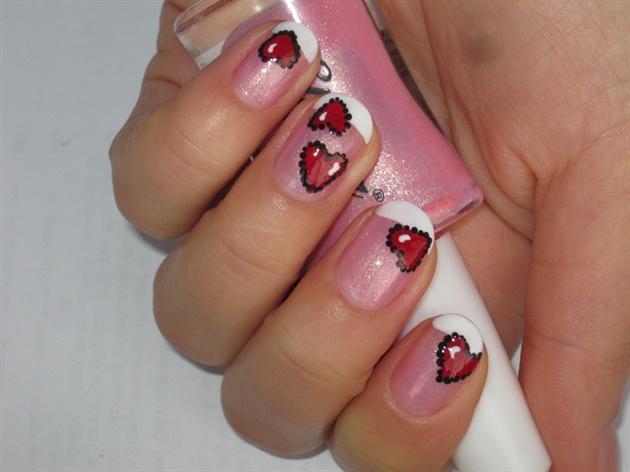 Cute Red Hearts