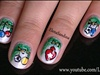 Christmas Ornaments Nail Design.