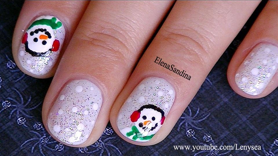 Snowman Nail Design - Nail Art Gallery