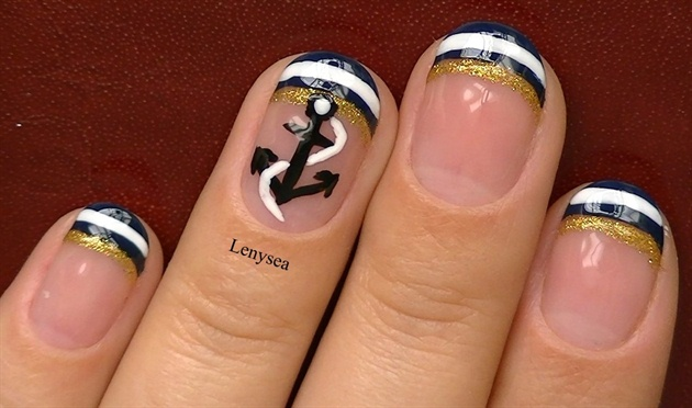 Nautical - Nail Art Gallery