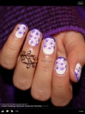 Purple Spring Nails