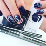 Wedding Nails Something Blue