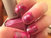 Pink Fishtail Braid Design