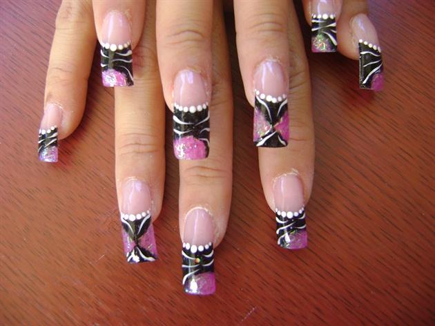 Pink & Black My favorite!