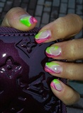 abstract ice cream nail