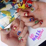 Comics nails 💕