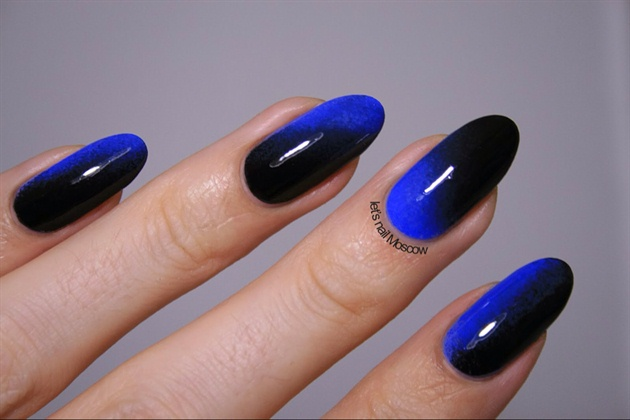 black-blue gradient 💙