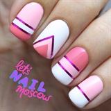 pink nails 💅