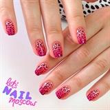 neon gradient cheetah 💕🐆