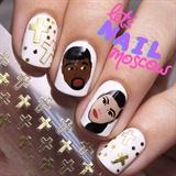 Kim&Kanye nails ✨👦🏿👩🏽✨