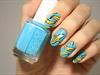 cute banana nails 🍌🍌🍌