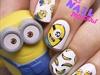 minion nails 😁