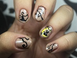 Witch and Cat Nails