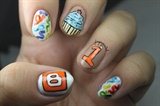 Blogiversary Nail Art