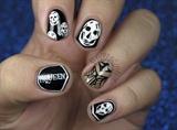 Alexander McQueen Skull Nails