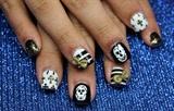 Skulls, Bows, Stripes, Crosses