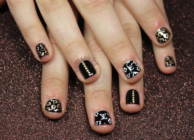 Black Cheetah & Studs