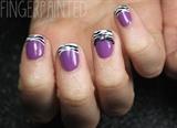 Purple Zebra Bling