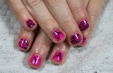 Kids Neon Pink Zebra