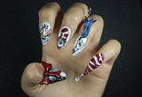 Cat in the Hat Nails!