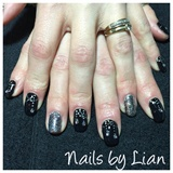 Jewellery With Gems Nail Art