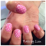 Polka Dots With Pink