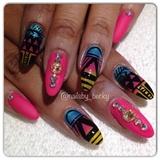 Beyoncé concert nails