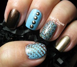 Teal and Brown Skittles