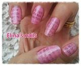 pink newspaper print :-)