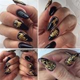 Black and gold barok