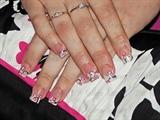 matching nails to dress