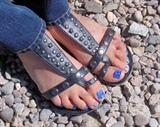 Patriotic Blue toes