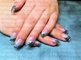 Attempt at GAGA inspired nails