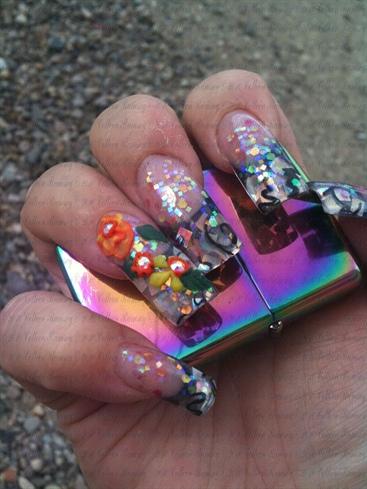 My nails freshened up