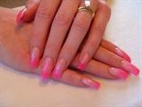 Pretty Pink fade