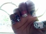 My Birthday Nails [left hand)