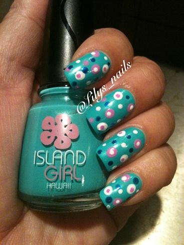 Island Girl Polka Dots