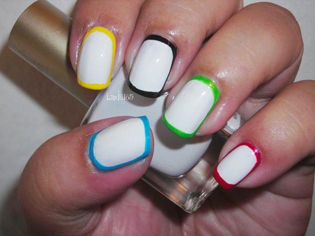 Olympic Nails (border nails)