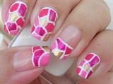 October in Pink: Pink Mosaic
