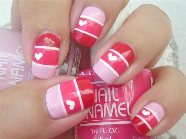Valentine Color Blocking