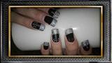 Black & Silver Chain