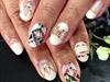 nailart using nail wraps