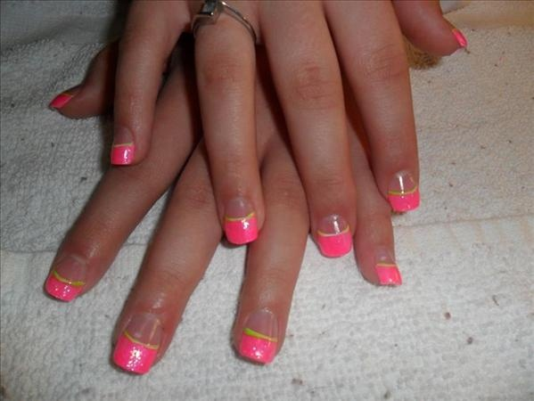 Hot Pink French