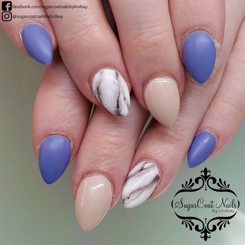 Periwinkle Marble