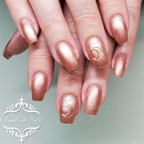 Rose Gold Moons