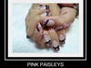 Pink Paisleys